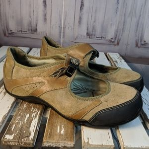 Womens shoes comfort flats slip mary janes mules w